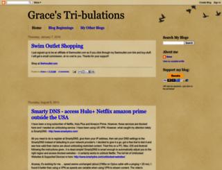 gracestribulations.blogspot.com screenshot