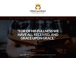 graceupongracefoundation.org screenshot