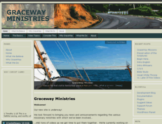 gracewayministries.com screenshot