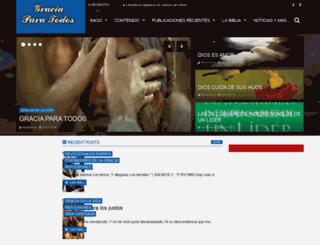 graciainfinitaparatodos.blogspot.com screenshot