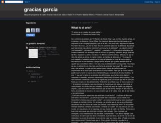 graciasgonzales.blogspot.com screenshot