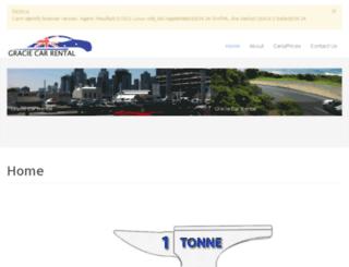 graciecarrental.com.au screenshot
