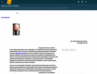 graciela-caldeiro.idoneos.com screenshot