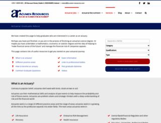 gradactuary.com screenshot