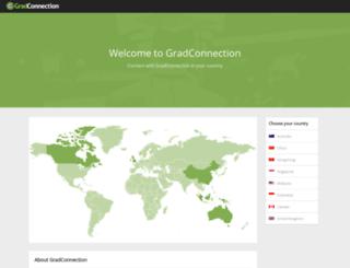 gradconnection.co.nz screenshot