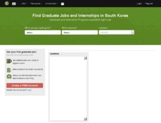 gradconnection.kr screenshot