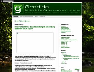 gradido-de.blogspot.de screenshot