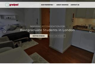 gradpadlondon.com screenshot