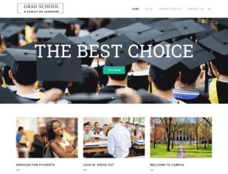 gradschool.com.au screenshot