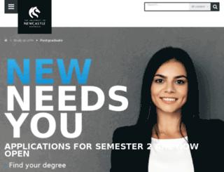 gradschool.edu.au screenshot