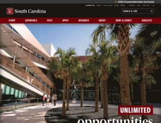 gradschool.sc.edu screenshot