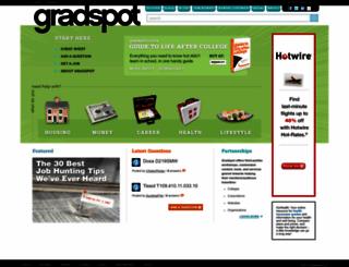 gradspot.com screenshot