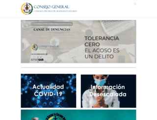 graduadosocial.com screenshot