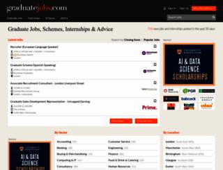graduate-jobs.com screenshot