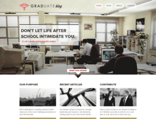 graduateblog.com screenshot