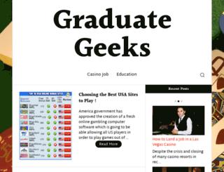 graduategeeks.com screenshot