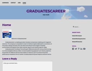 graduatescareer.wordpress.com screenshot