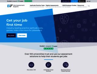 graduatesfirst.com screenshot