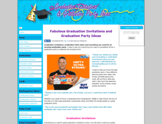 graduation-invitations-graduation-party.com screenshot