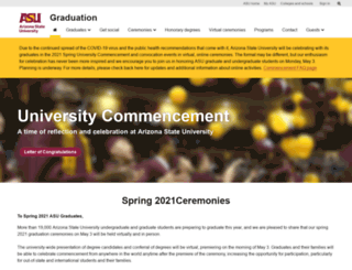 graduation.asu.edu screenshot