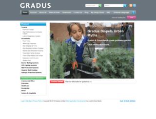 gradusworld.com screenshot