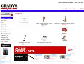 gradyshardware.com screenshot