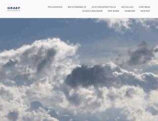 graef.eu screenshot