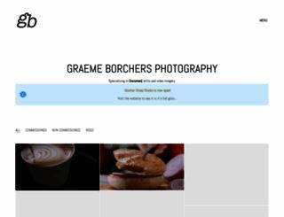 graemeborchers.com screenshot