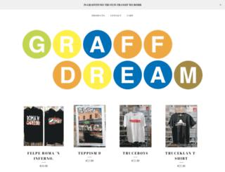 graffdream.bigcartel.com screenshot