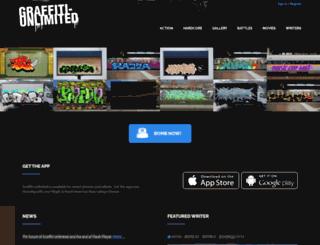 graffiti-unlimited.com screenshot