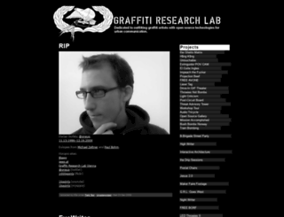 graffitiresearchlab.com screenshot