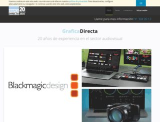 graficadirecta.com screenshot