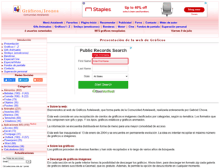 graficos.astalaweb.com screenshot