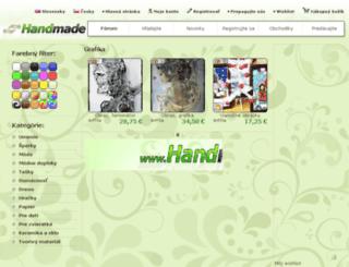 grafika.handmade.sk screenshot