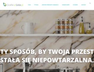 grafikiwszkle.pl screenshot
