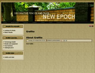 grafito.nl screenshot
