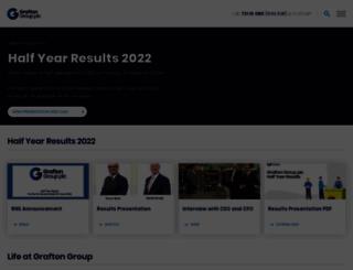 graftonplc.com screenshot