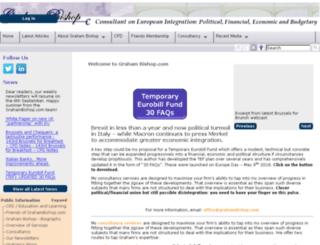 grahambishop.eu screenshot