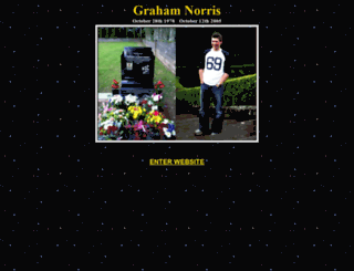 grahamnorris.com screenshot