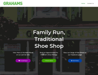 grahamshoes.ie screenshot