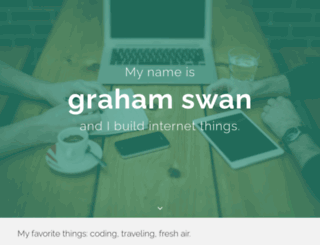 grahamswan.com screenshot