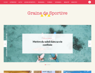 grainedesportive.fr screenshot