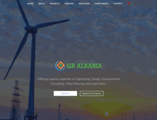 gralbania.com screenshot