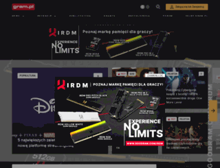 gram.pl screenshot