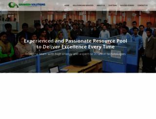 grameensolutions.com screenshot