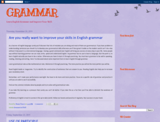 grammar24.blogspot.com screenshot