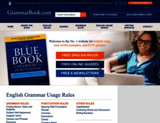 grammarbook.com screenshot