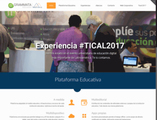 grammata.es screenshot