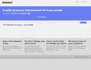grammati.com screenshot