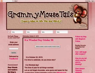 grammymousetails.blogspot.com screenshot